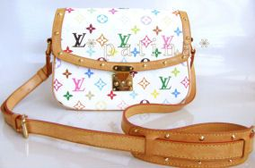 Louis Vuitton Sologne Multicolored Shoulder Bag