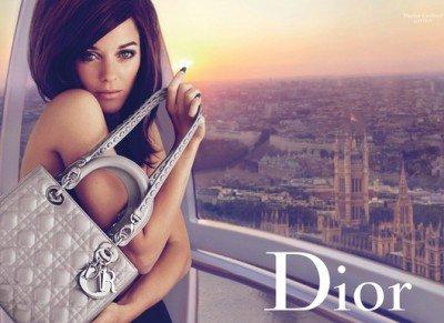 Lady Dior London ad