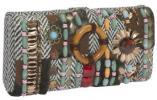 Prezzo Vintage Clutch | Beaded Tribal Ring Convertible Purse