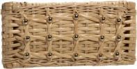 Kate Spade Eastward Avenue Kayla Mini Bag   Woven Basket & Stud Clutch
