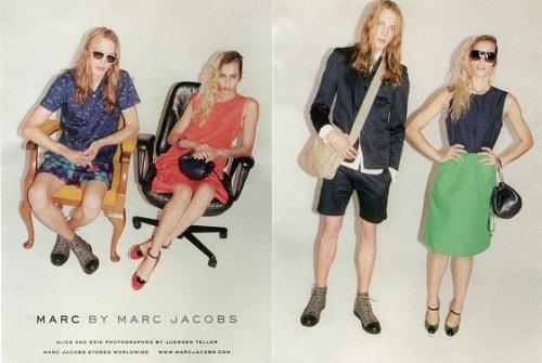 Alice Dellal Marc Jacobs Ad