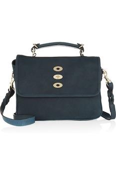 Mulberry Bryn Textured Leather Shoulder Bag